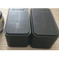 China ABS Black USB Mini Portable Bluetooth Speaker With FM Radio Alarm Clock on sale