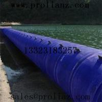 black of various specifications and models of air/water inflatable rubber dam (made in China)