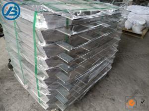 China Square Magnesium Alloy Anode For Cathodic Protection-AZ31 / AZ63 on sale