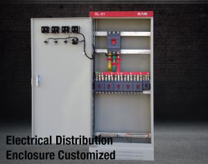 China XL21 Motor Control Cabinet Power Electrical Enclosure Sheet Steel For Switch Panel IEC 60439 on sale