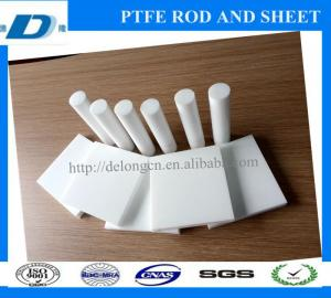 China zhejiang delong good quality ptfe sheet and rod manufactory on sale