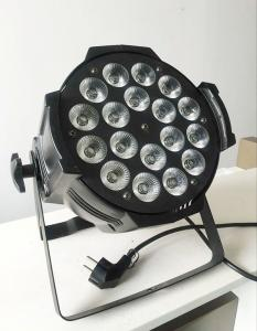China Mini 5in1 led stage lighting 18pcsx15w RGBWA par led lights control by pearl moving light controller on sale
