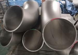 China 90 Degree Stainless Steel Pipe Fittings , ASME B16.9 Stainless Steel Elbow Fittings on sale