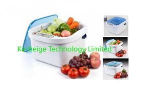 China Ultrasonic Ozone Vegetable and fruits sterilizer/ Household Ultrasonic cleaner on sale
