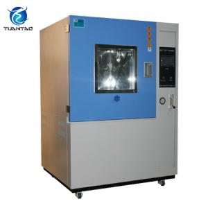 China Home Appliance Dust Test Chamber With Multi - Blade Centrifugal Fan Low Noise on sale