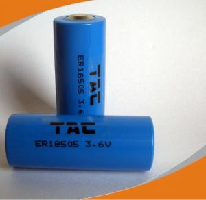 China  Lithium Cylindrical 3.6V 3600mAh Battery for Utility meter, smoke alarm system, detector on sale
