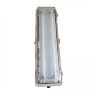 China T8 / T10 Explosion Proof Fluorescent Lighting , Cold White Tube Light Fixtures on sale