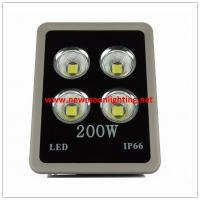 LED Outdoor Flood Lights IP65 Super Bright Security Lights Cold White LED Lights (Gray-200w-COB)
