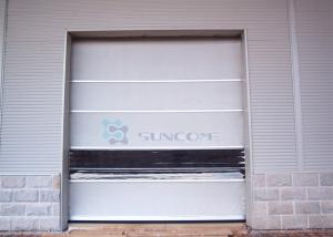 China Rapid Automatic Industrial High Speed PVC Curtain Roll Up Door Fast Rolling Door on sale