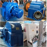 China Turgo Water Turbine  Hydroelectric Turbine Hydro Generator 70kW 500r / Min on sale