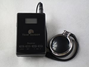 China Museum L8 Museum Audio Guide Transmitter And Receiver With AAA Battery on sale
