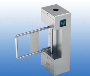 China RFID Reader Access Control 304 Stainless Steel Swing Barrier Gate KT217 on sale