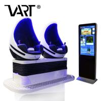 9D Virtual Reality 2 Seats Vr Cinema Type Crazy Egg 9d Virtual Reality Simulation Rides Price