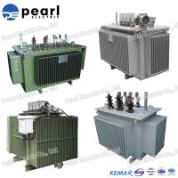 Energy Saving Oil Immersed Transformer With Low Loss 100 KVA 10KV