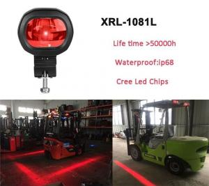 China XRLL Red Zone Forklift Backup LED Lights Safety Warning Signs Spot Lights on sale