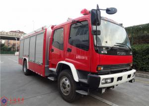 China ISUZU Chassis Commercial Fire Trucks Dry Powder For Petrochemical Enterprises on sale