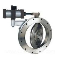 ISO9001 pneumatic butterfly valve in wafer and flange type