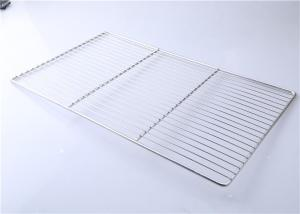 China 500*345 Custom Food Service Metal Fabrication Stainless Steel Cooling Grid Tray on sale