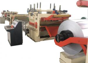 China Rotary Shear Cut To Length Line / Steel Coil Shearing Machine Width 300 - 2500mm on sale