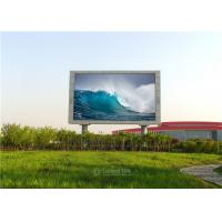 High Brightness P8 Outdoor LED Advertising Panel Waterproof With Die Casting Aluminum
