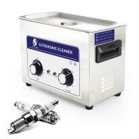 Inkjet Printing 4.5 L Stainless Steel Ultrasonic Washing Machine Mechanical Knob