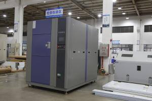 China Bare Wire Heater Thermal Shock Test Chamber , Single Door Thermal Testing Equipment on sale