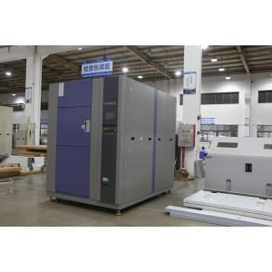 China High Precision Stainless Steel Plate 150L 3-Zone Thermal Test Chamber on sale