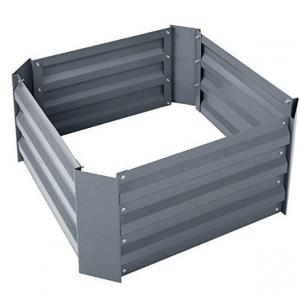 China CE 0.3mm Thick L60cm Galvanized Raised Beds on sale