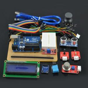 China Analog Display Starter Kit for Arduino with PS2 Game Joystick UNO R3 Board LCD1602 Mini Breadboard on sale