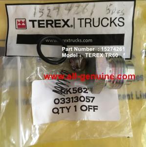 China TEREX 15274261 KIT CHECK VALVE NHL DUMP TRUCK MINING TR35 TR50 TR60 TR100 3305B 3305F 3303 3307 TR45 TR70 MT4400 on sale