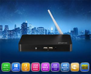 China PIPO X7 TV Player Quad Core , Internet Tv Boxes 2g 32g Intel Atom Z3736F Official  OS on sale