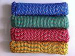 Colored Diamond Braided Poly Rope