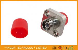 China FC Square Metal Copper SM APC , FC fiber Optic Adapter Ceramic Unit Set on sale