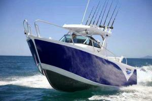 China Saltwater Aluminum Fishing Boats , Cuddy Cabin Boats 1.6M Height on sale