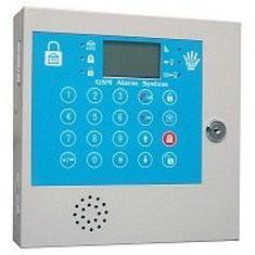 China Portable SIMCOM900B 1800Mhz Remote Control Two Way Voice Wireless / Wired GSM Alarm System on sale