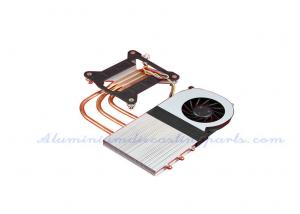 China Extrusion + Machining 100W Copper Pipe Heat Sink on sale
