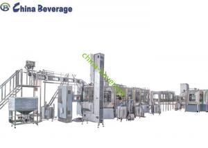 China Hot Juice Filling Machine 4000 Bph 3L Automatic Plastic Bottle Ultra Clean on sale