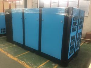 China High Efficiency Single Stage Screw Compressor 0.3Mpa Stable Exhaust Pressure on sale