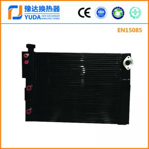 China Air compressor air oil cooler, OEM compressor air cooler, screw compressor cooler, aluminum plate fin heat exchanger on sale