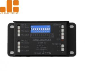China DMX512 Decoder LED Dimmer Controller With Mini Size Aluminium Shell Max 3A*3CH on sale