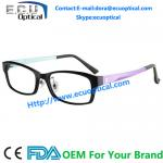 China Latest Styles Beautiful Eyeglasses,Bright Color Attractive Eyewear Frame wholesale
