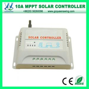 China QueensWing  MPPT  10A 12V Solar Power Controller with LCD display(QWM-1210A) on sale