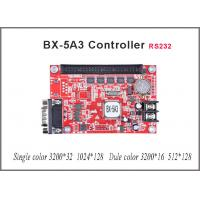 China P10 led module led sign Onbon BX-5A3 controller 128*1024 pixel SERIAL port controller single/dual color LED display sign on sale