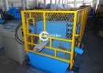 Square Type Water Downpipe Roll Forming Machine With Elbow Machine Plc Control