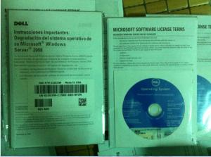 China dell Windows server 2008 R2 standard edition DVD + coa on sale
