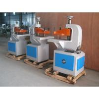 China Semi - Automatic Ten Ton Hydraulic Punching Machine For Paper / Plastic on sale