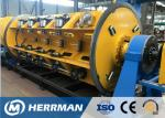 Horizontal Wire Manufacturing Machine , Rigid Type Steel Wire Armouring Machines
