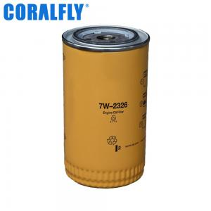 China 48 Micron 7W2326 CORALFLY Oil Filter For Diesel Engine on sale