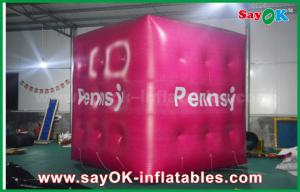 China Outdoor Inflatable Balloon Float Helium Cube with PVC Material on sale