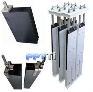 China Titanium Electrode for salt chlorinator on sale